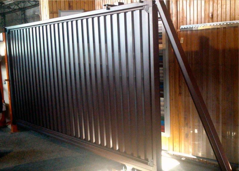 Сдвижные ворота комплектующие в самаре ворота дачные распашные фото